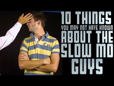 10 things you may not have known about The Slow Mo Guys (видео)