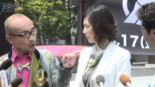 竹中直人、米倉涼子/『アベンジャーズ』日本大ヒット祈願イベント