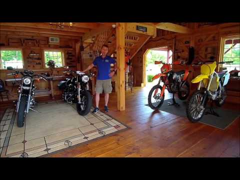 Barn Kits for Horse Power Video: Man Caves by Country Carpenters Inc