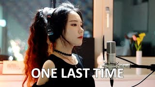 Video Me Singing - One Last Time by Ariana Grande - J.Fla cover MP3, 3GP, MP4, WEBM, AVI, FLV Agustus 2018