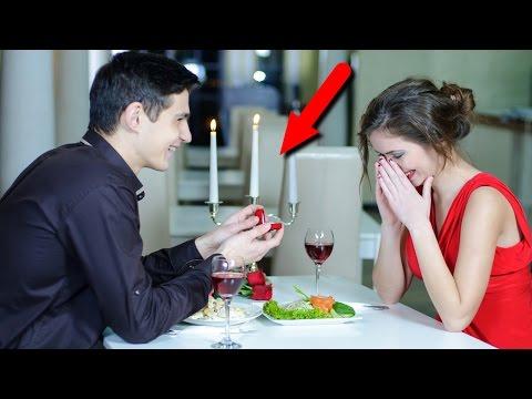 Как сделать предложение девушке оригинально выйти замуж