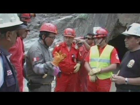 فشل محاولات إنقاذ تسعة عمال مناجم عالقين في البيرو - فيديو