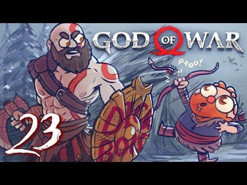 God of War HARD MODE (God of War 4) Part 23 - w/ The Completionist   Final Boss Fight + Ending (видео)