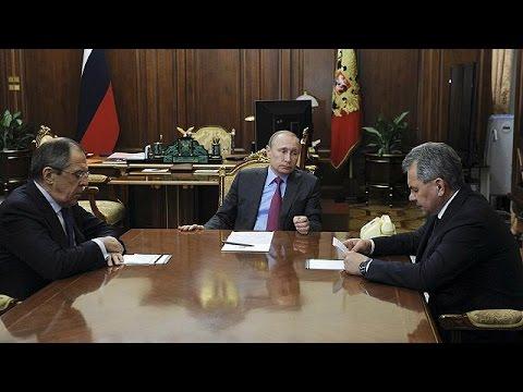 Πούτιν: Αποσύρονται οι ρωσικές δυνάμεις από τη Συρία