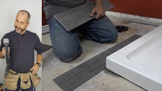 How To Install A 6 By 36 Porcelain Floor Tile