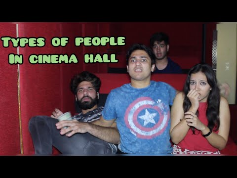 Types Of People In cinema Hall | Harsh Beniwal