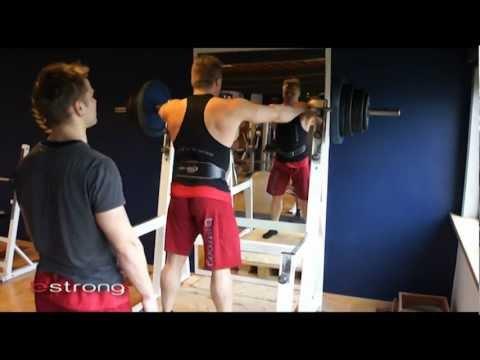 190 kg i squat på færøsk