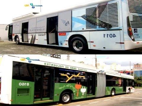 Conheça dois ônibus ecológicos testados no Brasil…
