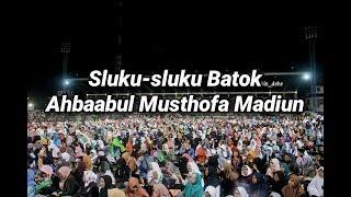 Sluku-sluku bathok Ahbaabul musthofa Madiun. Madiun Bersholawat 26 November 2016 Video
