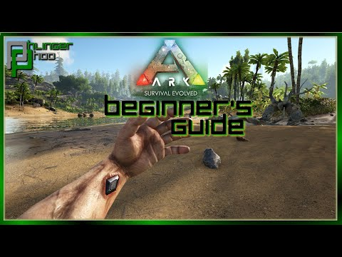 BEGINNER'S GUIDE - HOW TO GET STARTED IN ARK: SURVIVAL EVOLVED Soloing The Ark S5E1