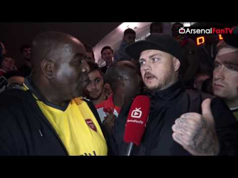 "Arsenal Vs FC Basel 2-0 | ""RESPECT MY OPINION"" DT Reacts Angrily To Pro Wenger Fan"