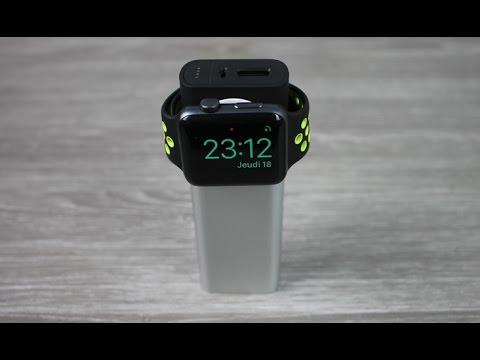Une Batterie Externe pour Apple Watch et iPhone !