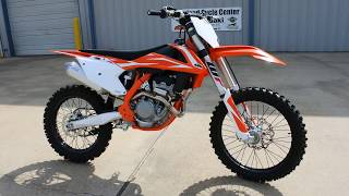 2. $8,699:  2018 KTM 250 SX-F Overview and Review