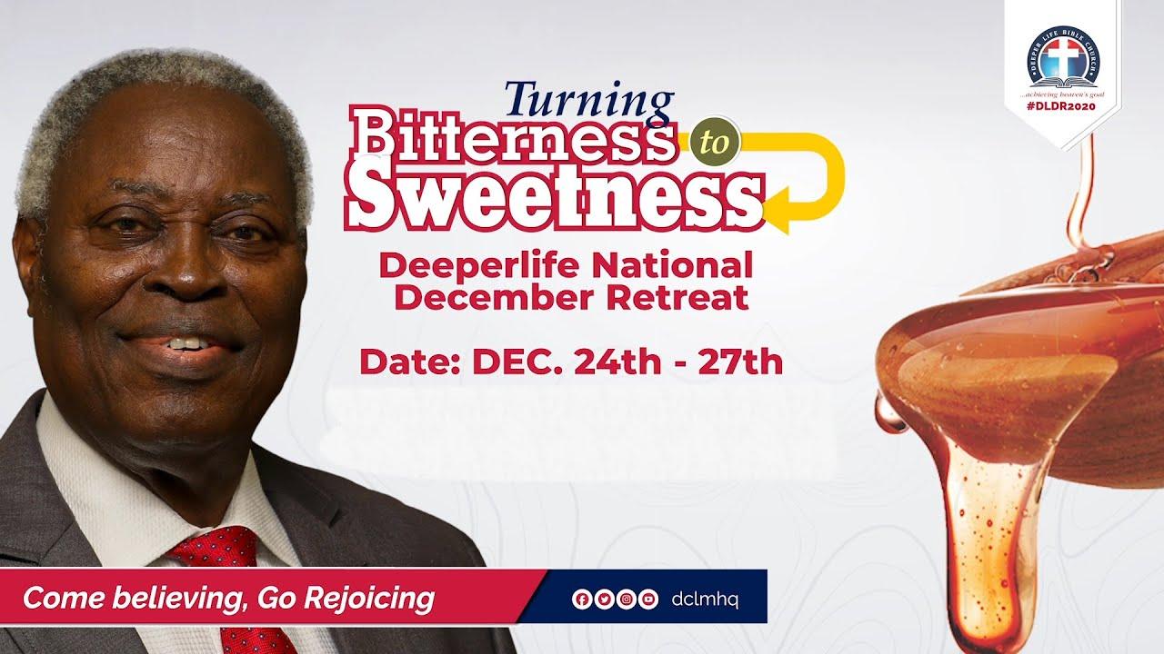 Deeper Life 2020 National December Retreat Sunday 27th December 2020 - Day 4