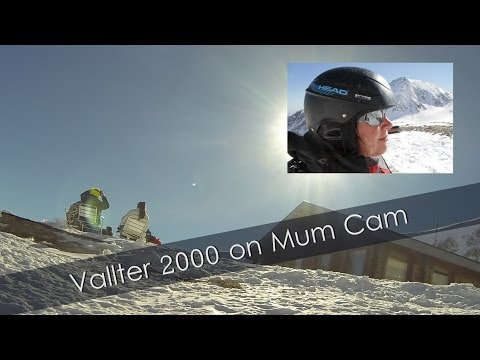 Skiing Vallter 2000. Filmed using Panasonic HX-A100 Wearable Camera