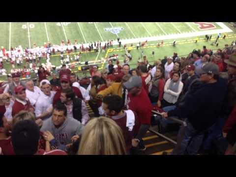 Alabama fan mom unapologetic following viral video of her DIVING over crowd to attack Oklahoma students at Sugar Bowl game