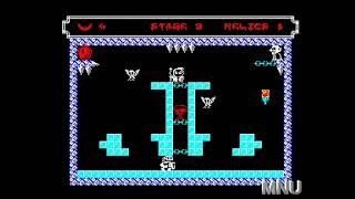 Vampire Vengeance [Poe Games] [Percentages] (ZX Spectrum Emulated) by hughes10