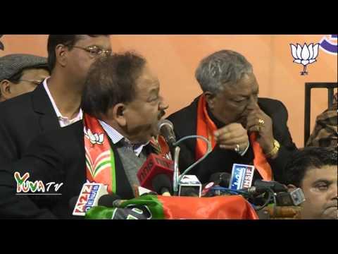 Dr. Harshvardhan addresses Booth Coordinators meeting at National Club (Chandni Chowk): 22.01.2015