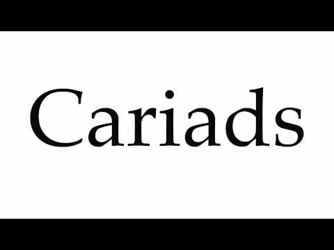 How to Pronounce Cariads