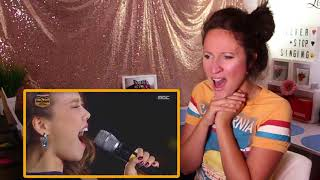 Video Vocal Coach REACTS to AMERICANS VS KOREANS - High Belt Notes Singers MP3, 3GP, MP4, WEBM, AVI, FLV Oktober 2018