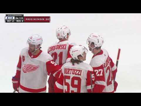 Video: Detroit Red Wings vs Boston Bruins | NHL | SEP-26-2018 | 19:00 EST