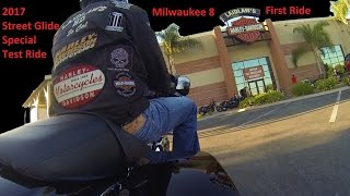 9. 2017 Street Glide Special (FLHXS)Test Ride/Review │Milwaukee 8 First Ride Impressions