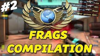GLOBAL ELITE FRAGS COMPILATION! #2