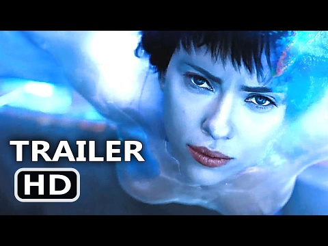 GHOST IN THE SHELL Official Trailer # 2 (2017) Scarlett Johansson Sci Fi Movie HD