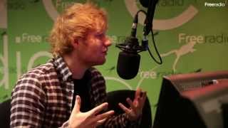 Ed Sheeran Interview - Talking about his new single SING & working with Pharrell