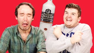 Irish People Taste Test Russian Vodka