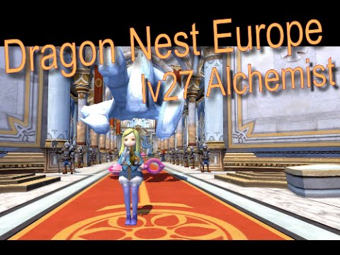 Dragon Nest EU – Alchemist lv27 Solo Gameplay
