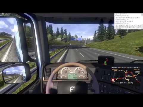 [Jell] 유로트럭 시뮬레이터 2 (140724) : 치느님 먹고 뻗었습니다. (видео)