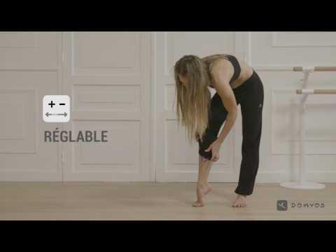 Pantalon ajustable et brassière femme danse DOMYOS