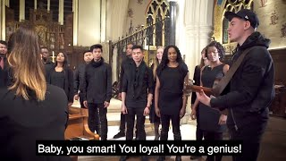 """This song is made up entirely of DJ Khaled's best quotes. If you don't know who DJ Khaled is congratulations you played yourself.  """"They Don't Want You To Win"""" Jamie Grey ft LIGChoir====LYRICS======V1walk with me thru the pathway to more successBaby, you smart! You loyal! You a genius!Give thanks to the most highto make it thru the jungle, you're gonna have to sweat to get by.....soCHORUSThey never said that winning was easy.I remember I ain't have no jacuzzi They Don't Want You To Win NoThey'll try to close the door on you so Just Open It, Don't Play Yourself NoJust Open It, Don't Play Yourself NoV2Let me inspire you, I changed… a lot.the key is never be afraid of being yourselfWe have to get money. We have no choice. It cost money to eat, cost money to eat butBRIDGECoz they don't want you to win, want you to winthe key is to make itAlways have faith, always have hopeThe key is never to folddddSong by @JamieGreyMusic & DJ KhaledThanks To London International Gospel Choirhttps://www.youtube.com/channel/UCsrZPEeSZG_yMPZLcAqDjtAArtistic Director - Naveen ArlesAssociate MD/Piano - Nina RosenbergerAll Saints Church (Notting Hill Gate)@ProtonBSSub to DJ Khaled's Channelhttp://youtube.com/user/DJKhaledVEVOFollow Jump Off TVhttp://facebook.com/JumpOffTVhttp://instagram.com/JumpOffTVhttp://twitter.com/JumpOffTVhttp://www.jumpoff.tvinfo@jumpoff.tvFollow the Talenthttp://twitter.com/JamieGreyMusichttp://twitter.com/LIGChoirhttp://twitter.com/DJKhaled"""