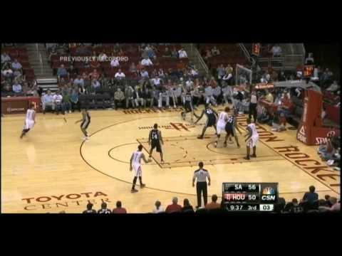[10.14.12] Jeremy Lamb - 11 points vs Spurs (Full Highlights)
