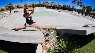 Today we witness what might possibly be one of the worst splits to have ever occurred in skateboarding history. Along with that we get some awesome regular skating in too. For more episodes like this check out this playlist here: https://www.youtube.com/watch?v=DMBVwuK1da0&list=PLjpsoptsN4KDRVFMxLzSD4hUd6taAabkb&index=2&t=4shttp://www.brailleskateboarding.com/how-to-skateboard/YOU CAN LEARN TO SKATEBOARD! CLICK ABOVE TO GET THE MOST DETAILED HOW TO SKATEBOARD LESSON PLAN EVER MADE!  SKATEBOARDING MADE SIMPLE!Fetty Potter: http://www.youtube.com/fettypotterKelly Wakasa: http://www.youtube.com/kellywakasaGET SKATEBOARDING MADE SIMPLE ON iBOOKS! https://itunes.apple.com/us/artist/aaron-kyro/id733499725?mt=11GET SKATEBOARDING MADE SIMPLE ON GOOGLE PLAY https://play.google.com/store/books/details/Aaron_Kyro_Skateboarding_Made_Simple_Vol_1?id=8BEbBQAAQBAJSkateboarding Made Simple on Amazon: https://www.amazon.com/Skateboarding-Made-Simple-Braille-Aaron/dp/B01LYPOIVP/ref=sr_1_1?ie=UTF8&qid=1482278130&sr=8-1&keywords=skateboarding+made+simpleFOLLOW ON SOCIAL MEDIAINSTAGRAM https://instagram.com/brailleskate/FACEBOOK: http://www.facebook.com/BrailleSkateboardingGOOGLE +: https://plus.google.com/107594784940938640430TWITTER: http://twitter.com/#!/BrailleSkateFor general inquiries email contact@brailleskateboarding.comFor business, brand or media inquiries please email jen@brailleskateboarding.comCHECK OUT OUR WEBSITE FOR ALL THE LATEST BRAILLE NEWS AND UPDATES!!! http://www.brailleskateboarding.comTHUMBS UP FOR MORE VIDEOS!PLAYLISTS LINKS FOR MOBILE USERSlearn to skate: http://www.youtube.com/playlist?list=PL34F060CE1BA3E968SKATE SUPPORThttp://www.youtube.com/playlist?list=PL2E1C0A94C6B6CEBB&feature=view_allCLIPPEDhttp://www.youtube.com/playlist?list=PLjpsoptsN4KCS-4mngnS8xM4ZXwpn60NQ&feature=view_allslow motionhttp://www.youtube.com/playlist?list=PLC8009736C487A442&feature=viewalltop videoshttp://www.youtube.com/playlist?list=PL1EDB4CAEBAD05D02Clip of the weekhttp://www.yout