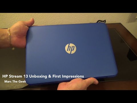 HP Stream 13 Unboxing & First Impressions
