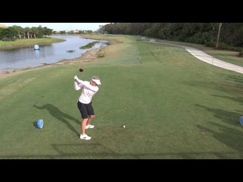 GOLF SWING 2012 – SUZANN PETTERSEN DRIVER – ELEVATED DTL & SLOW MOTION – HQ 1080p HD