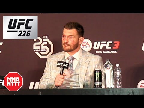 Stipe Miocic UFC 226 Post Fight Press Conference