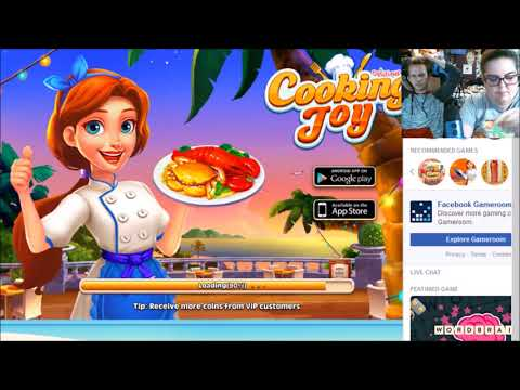 Michelle Plays Cooking Joy
