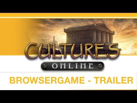 Cultures Online — Strategy Browser Game — Game Trailer