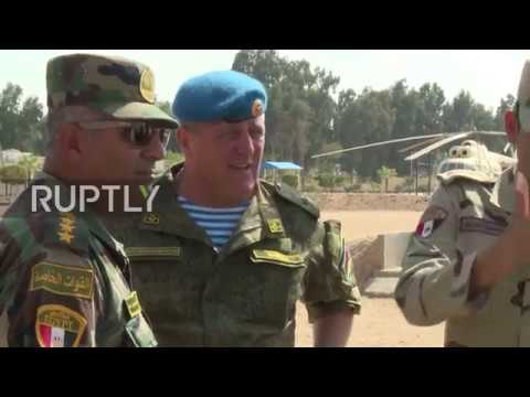 Egypt: Joint Russia-Egypt 'Defender of Friendship 2018' drills underway