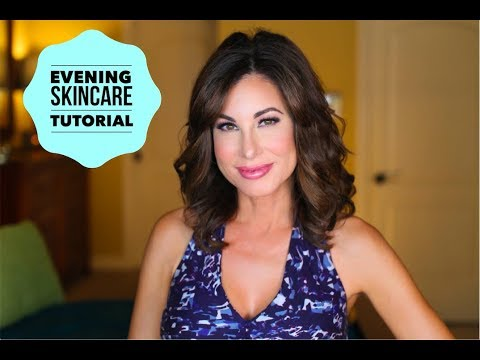 Evening Skincare Routine and Tutorial Anti-Aging