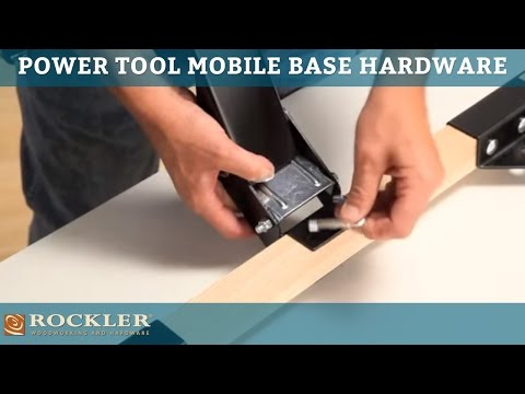 Rockler Power Tool Mobile Base Hardware