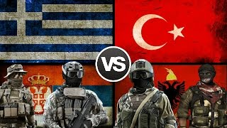 ALBANIA AND TURKEY VS GREECE & SERBIA - 2017 Daily Media / New Channel Donate Daily Media ...