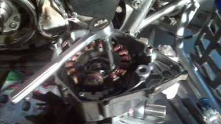 9. yamaha warrior stator replacement - would not start