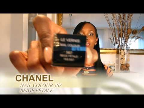 peche nacree - This video includes Chanel Spring/summer nail polish collection 2011. Nail Polishes: 515 Pêche Nacrée, 513 Black Pearl, 557 Mimosa,557 Morning Rose, 567 Beig...