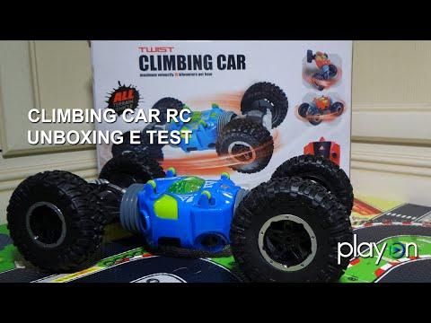 Купить Машинку-Перевертыш HYPER Twist Climbing Car Трюковая 31см. Синяя