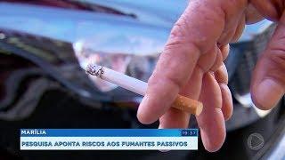 Pesquisa da Unesp revela os malefícios do cigarro para quem convive com fumantes