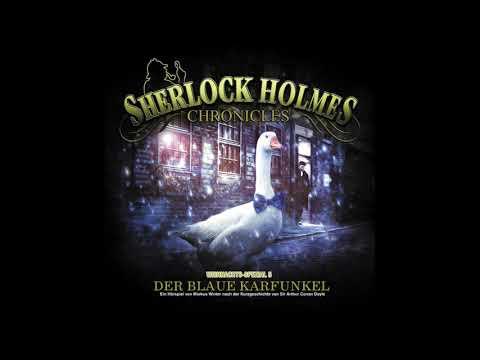 """Sherlock Holmes HÖRSPIEL Weihnachts-Special 6 """"Der blaue Karfunkel"""""""